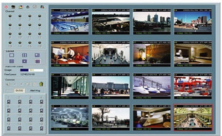 Phần mềm ghi hình 16 kênh