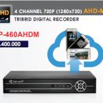 dau ghi hinh Camera AHD Vantech VP-460AHDM