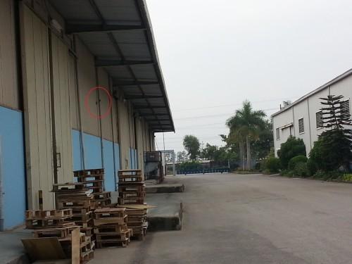 Camera giam sat ngoai troi khu cong nghiep
