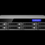 Dau ghi hinh camera IP 24 kenh Qnap VS-8124U-RP Pro+