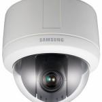 Camera IP bán cầu Zoom quay quét Samsung SNP-3120P