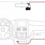 Cách lắp đặt camera hành trình cho ô tô