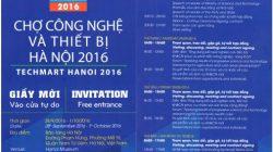 """Chương trình """"chợ công nghệ và thiết bị Hà Nội 2016"""" TECHMART HANOI 2016 thumbnail"""