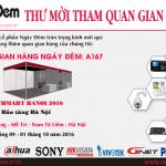Thư mời tham quan gian hàng Ngày Đêm tại TECHMART HANOI 2016