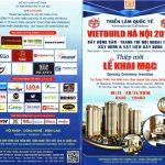 Chương trình triển lãm quốc tế VIETBUILD Hà Nội 2016
