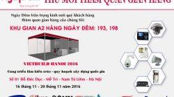 Thiệp mời thăm quan triển lãm quốc tế Vietbuild Hà Nội 2016 thumbnail