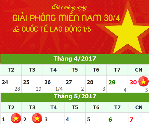 ngay-dem-thong-bao-lich-nghi-le-304-va-01052017