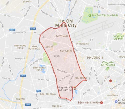Lắp đặt camera quan sát tại quận Tân Phú