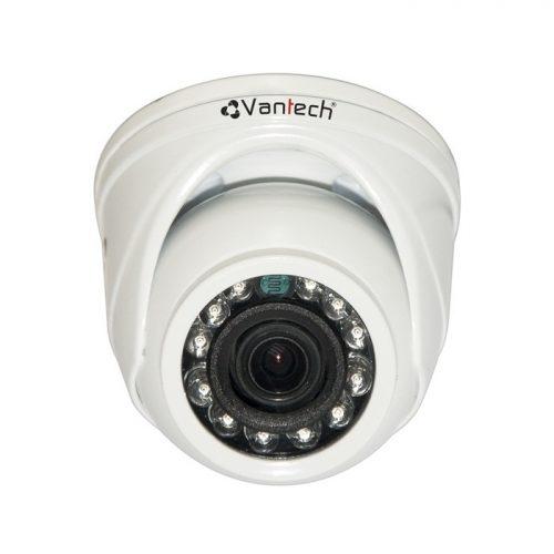 Camera HD-CVI bán cầu hồng ngoại Vantech VP-1007C