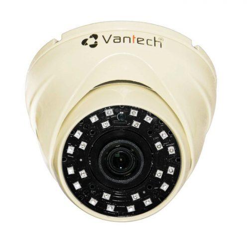 Camera HD-CVI bán cầu hồng ngoại Vantech VP-100C