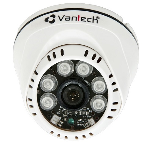 Camera HD-CVI bán cầu hồng ngoại Vantech VP-100CVI