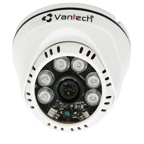 Camera HD-CVI bán cầu hồng ngoại Vantech VP-101CVI