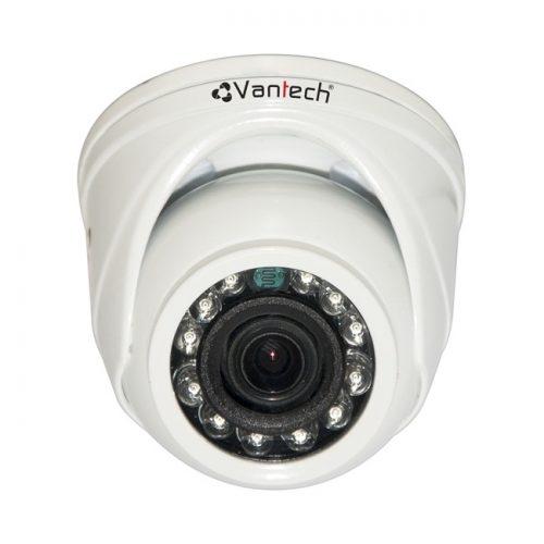 Camera HD-TVI bán cầu hồng ngoại Vantech VP-1007T