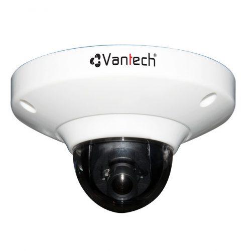 Camera IP bán cầu chống va đập Vantech VP-130M