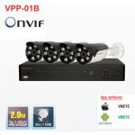 Bộ đầu ghi hình camera IP 4 kênh Powerline Vantech VPP-01B