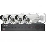 Bộ đầu ghi hình camera IP 4 kênh Powerline Vantech VPP-01D