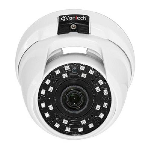 Camera HD-CVI bán cầu hồng ngoại Vantech VP-100CS
