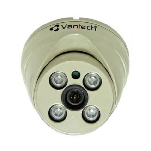 Camera HD-CVI bán cầu hồng ngoại Vantech VP-224CP