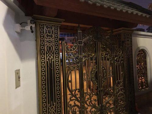 lắp đặt chuông cửa có hình cho biệt thự