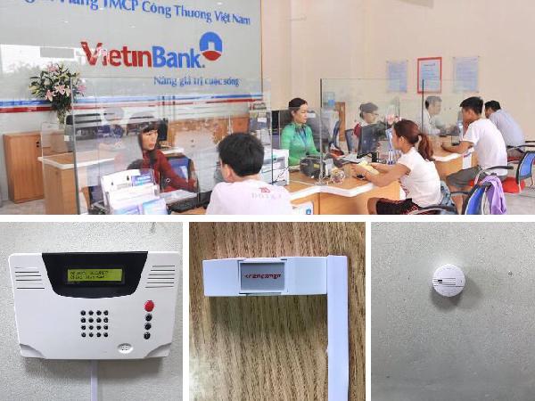 hệ thống báo động cho ngân hàng