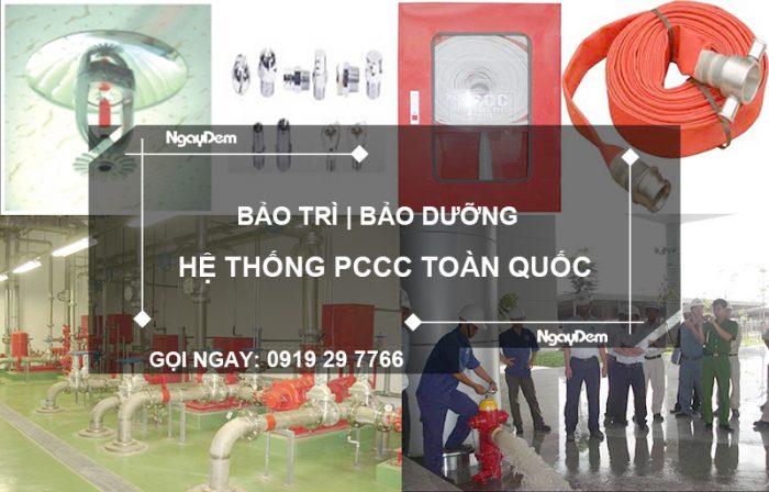bảo trì pccc