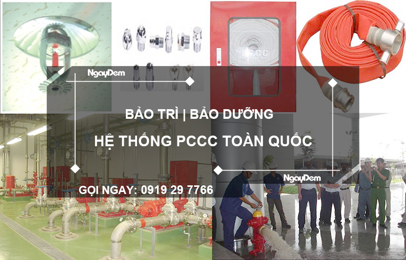 sửa chữa hệ thống pccc