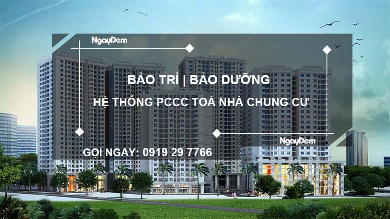 bảo trì pccc toà nhà chưng cư tại Long An
