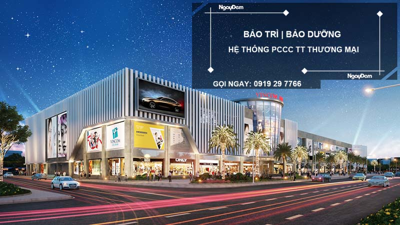 bảo trì pccc trung tâm thương mại tại Long An