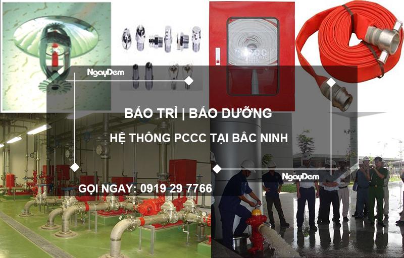bảo trì pccc tại Bắc Ninh