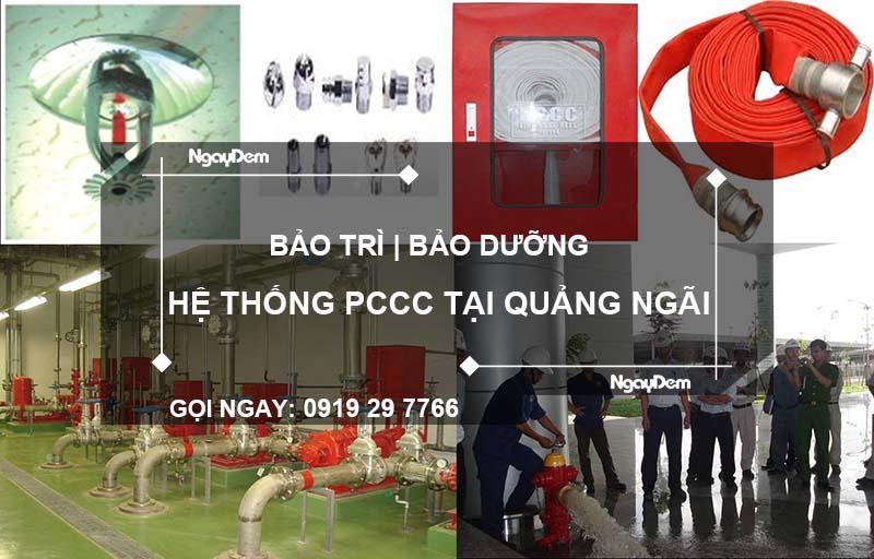 bảo trì pccc tại Quảng Ngãi