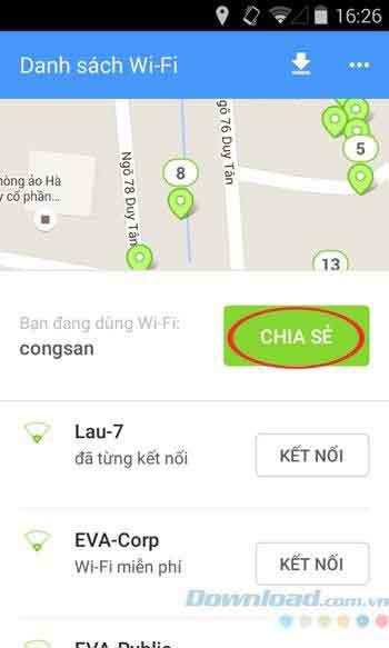 hướng dẫn tìm mật khẩu wfi