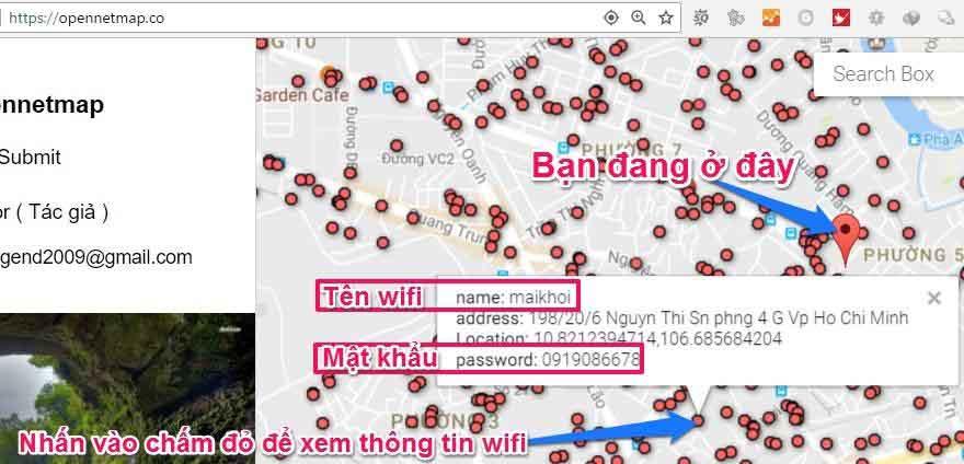 ứng dụng tìm mật khẩu wifi