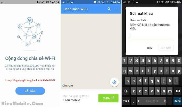 ứng dụng tìm mật khẩu wifi miễn phí