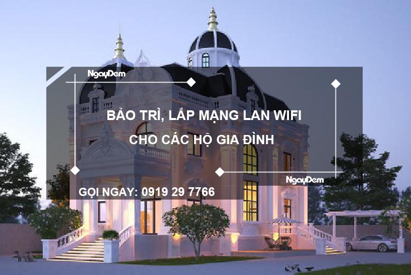 lắp mạng wifi gia đình