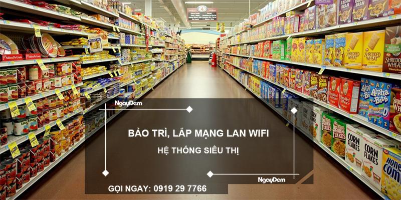 lắp mạng wifi siêu thị