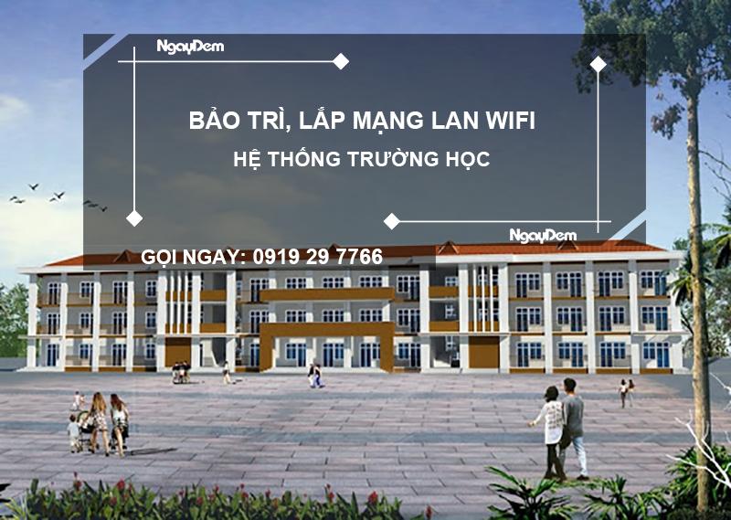 lắp mạng wifi trường học