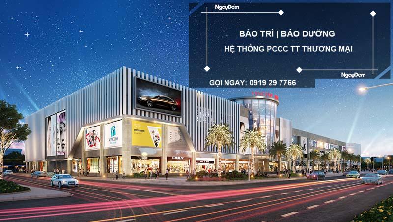 Bảo trì pccc trung tâm thương mại tại quận Long Biên